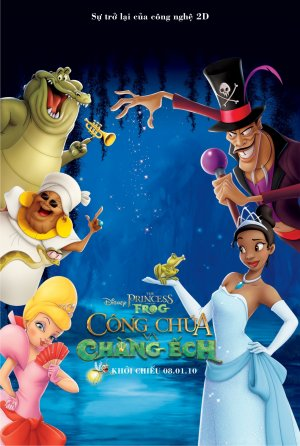 The Princess and the Frog 1009x1500