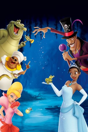 The Princess and the Frog 3364x5000