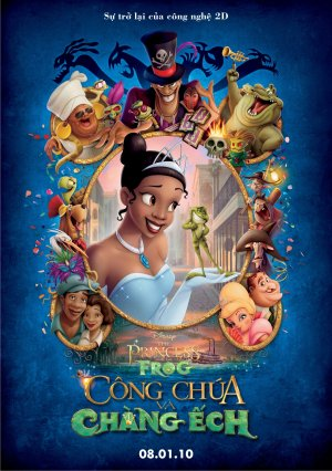 The Princess and the Frog 1057x1500