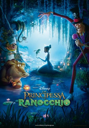 The Princess and the Frog 3307x4724
