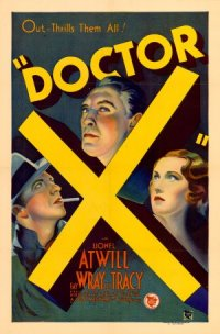 Doctor X poster