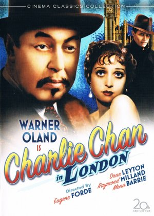 Charlie Chan in London Dvd cover