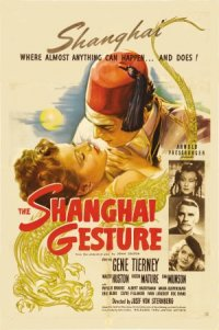 The Shanghai Gesture poster