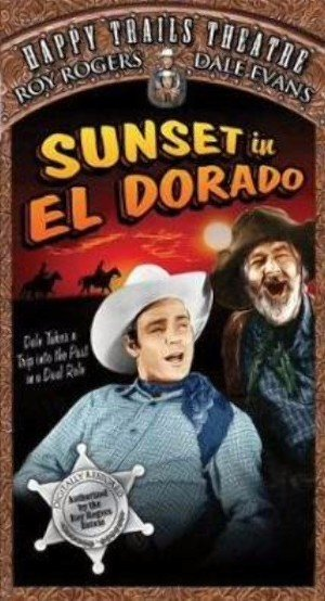 Sunset in El Dorado Vhs cover