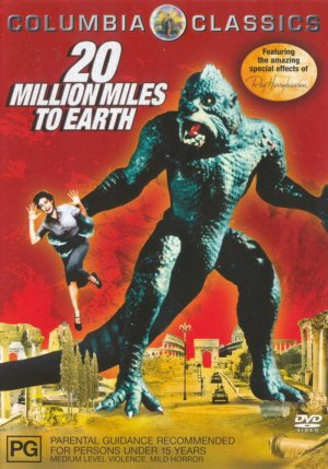 20 Million Miles to Earth Dvd cover