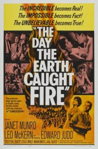 The Day the Earth Caught Fire poster