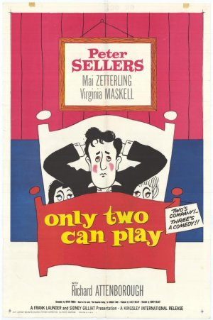 Only Two Can Play Poster