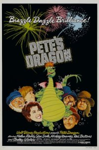 Peter et Elliott le dragon poster