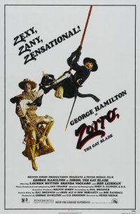 Zorro: The Gay Blade poster