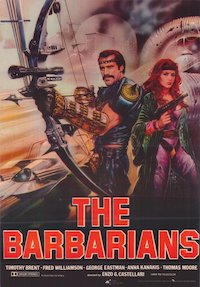 The New Barbarians: Warriors of the Wasteland poster