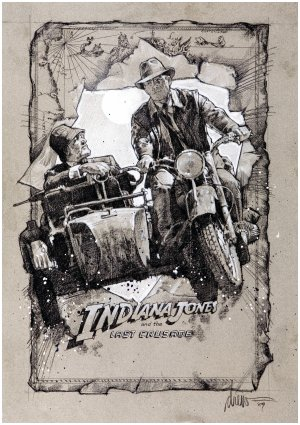 Indiana Jones and the Last Crusade 2109x2986