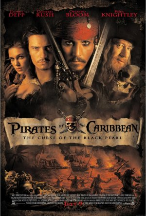 Pirates of the Caribbean: The Curse of the Black Pearl 1013x1500