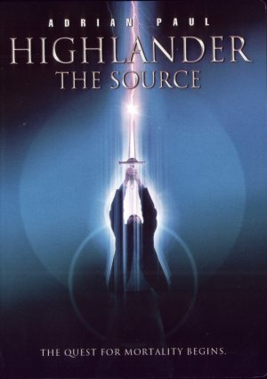 US cover for Highlander: The Source