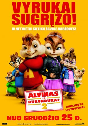 Alvin and the Chipmunks: The Squeakquel 800x1143