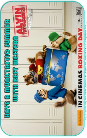 Alvin and the Chipmunks: The Squeakquel 453x720