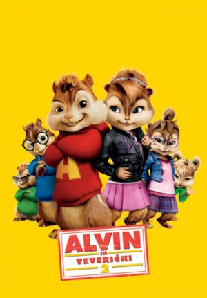 Alvin and the Chipmunks: The Squeakquel 348x500