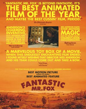 Fantastic Mr. Fox For your consideration poster