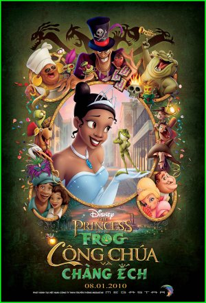The Princess and the Frog 600x884