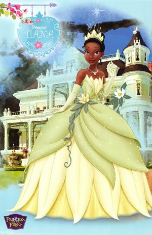 The Princess and the Frog 500x768