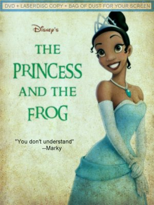 The Princess and the Frog 505x674