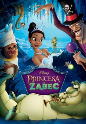 The Princess and the Frog 348x500