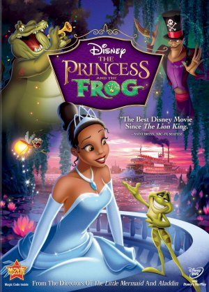 The Princess and the Frog 1642x2288