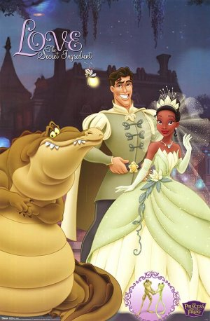 The Princess and the Frog 500x763
