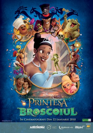 The Princess and the Frog 709x1013