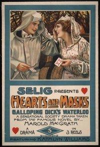 Hearts and Masks poster