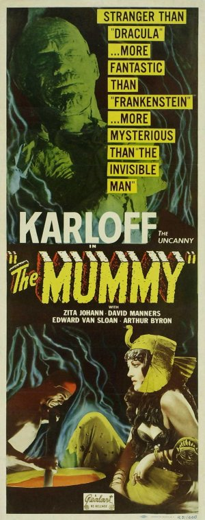 The Mummy Re-release poster