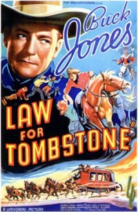 Law for Tombstone poster