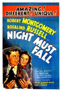 Night Must Fall poster