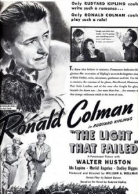 The Light That Failed poster