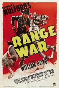 Range War poster