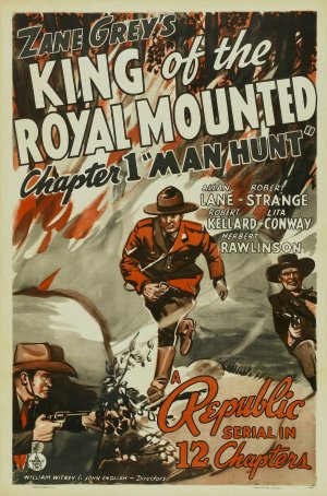 King of the Royal Mounted Poster
