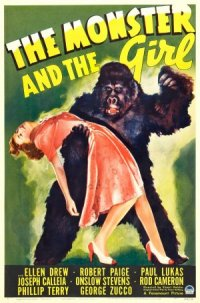 The Monster and the Girl poster