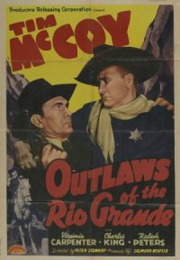 Outlaws of the Rio Grande poster