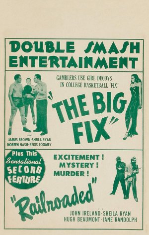 The Big Fix Combo poster