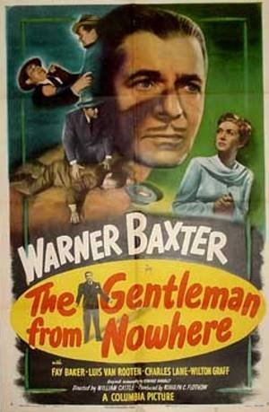 The Gentleman from Nowhere Poster