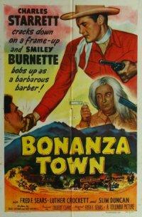 Bonanza Town poster