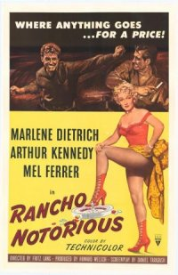 Rancho Notorious poster