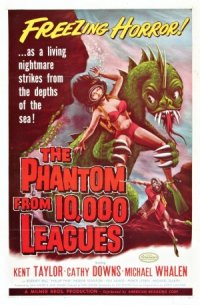 The Phantom from 10,000 Leagues poster