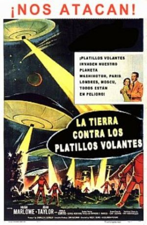 Earth vs. the Flying Saucers 320x490