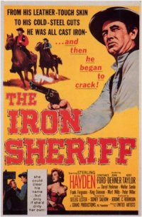 The Iron Sheriff poster