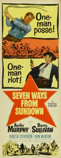 Seven Ways from Sundown poster
