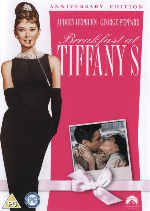 Breakfast at Tiffany's Dvd cover