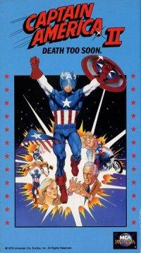 Captain America II: Death Too Soon poster