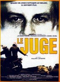 Le juge poster