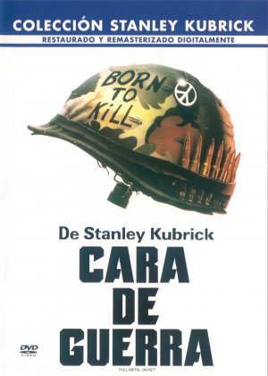 Full Metal Jacket Dvd cover