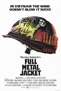 Stanley Kubrick's Full Metal Jacket poster